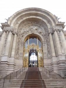 Entrada del «Petit Palais»