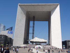 El eje histórico de París