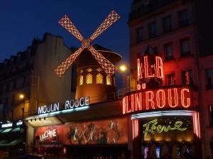 Barrio de Montmartre-Moulin Rouge