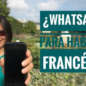WhatsApp para hablar francés