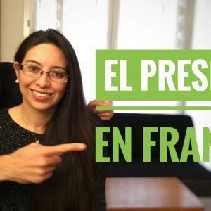 el presente en francés