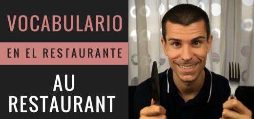 cómo pedir en el restaurante en francés